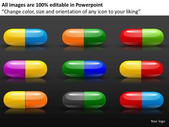 Editable Prescription Drugs PowerPoint Templates Download
