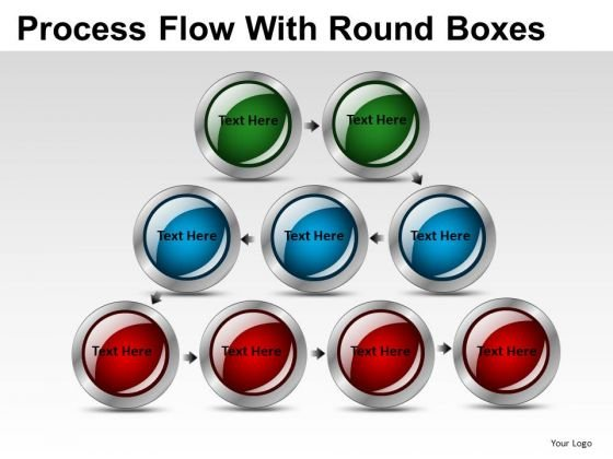 Editable Process Flow Buttons PowerPoint Slides And Ppt Diagram Templates