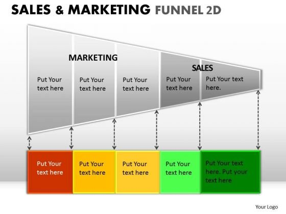 Editable Sales Marketing Funnel Diagram With Highlightable Stages For PowerPoint Presentation Slides