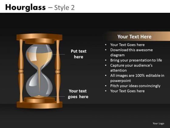 Editable Slides Hourglass Ppt