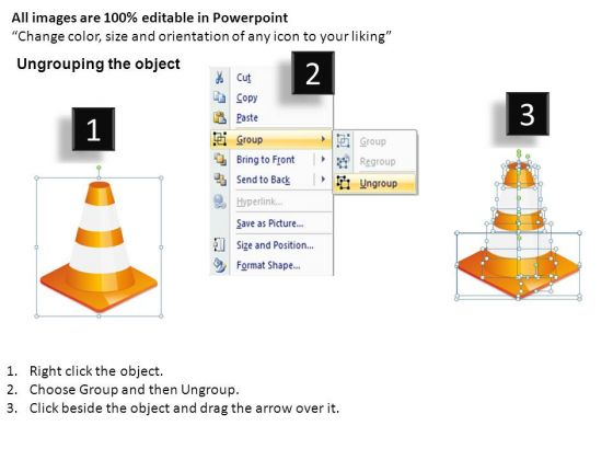 editable_slides_with_stacked_traffic_cones_powerpoint_templates_2