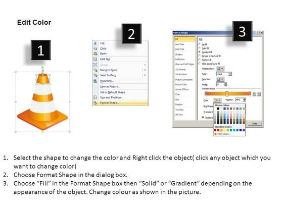 editable_slides_with_stacked_traffic_cones_powerpoint_templates_3