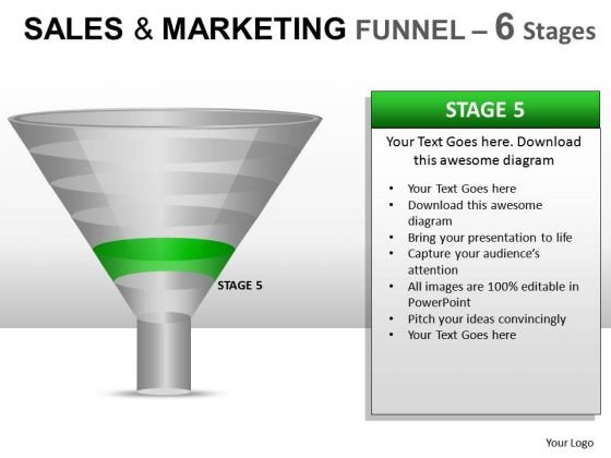 Editable Stages Funnel Conversion PowerPoint Slides And Ppt Diagram Templates