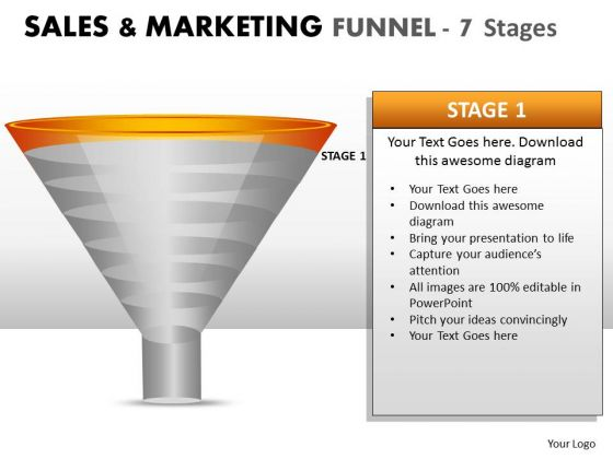 Editable Strategy Marketing Sales Funnel PowerPoint Slides And Ppt Diagram Templates