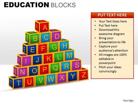 Education Blocks Ppt 17