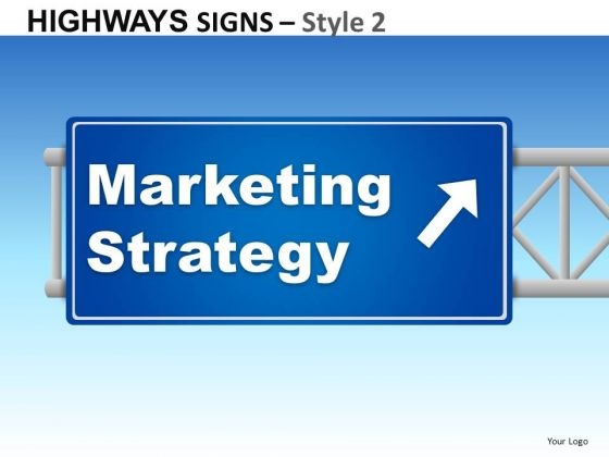 Education Highways Signs 2 PowerPoint Slides And Ppt Diagram Templates