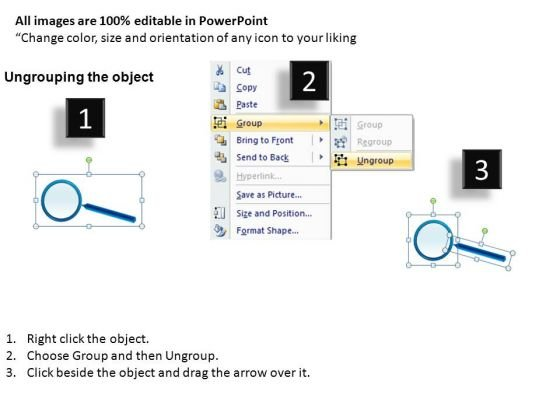 education_magnifying_glass_on_report_powerpoint_slides_and_ppt_diagram_templates_2