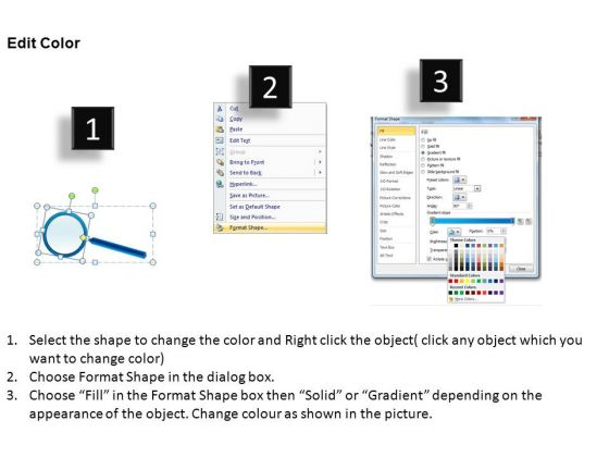 education_magnifying_glass_on_report_powerpoint_slides_and_ppt_diagram_templates_3