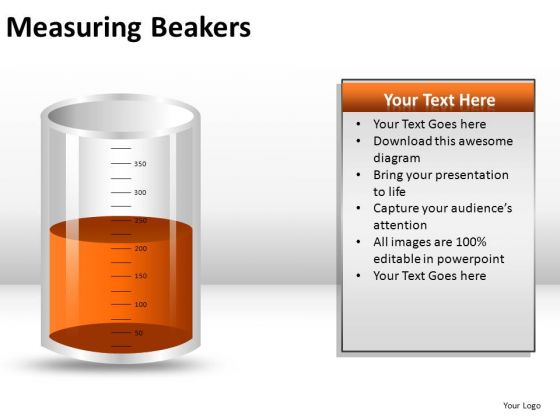 Education Measuring Beakers PowerPoint Slides And Ppt Diagram Templates