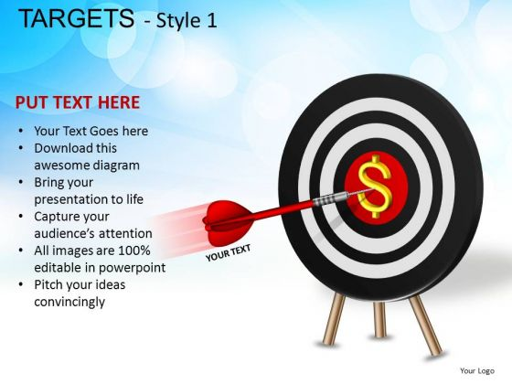 Education Targets 1 PowerPoint Slides And Ppt Diagram Templates