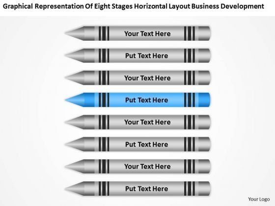 Eight Stages Horizontal Layout Business Development Ppt Plan PowerPoint Slides