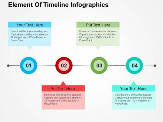 Element Of Timeline Infographics PowerPoint Templates