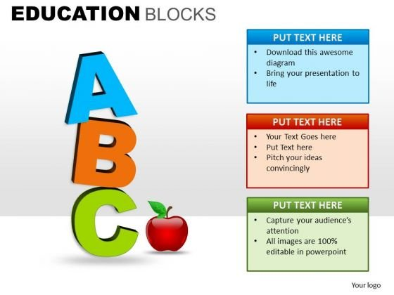 English Alphabets Education PowerPoint Templates And Editable Ppt Slides