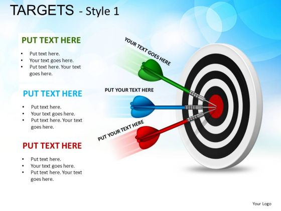 Entertainment Targets 1 PowerPoint Slides And Ppt Diagram Templates