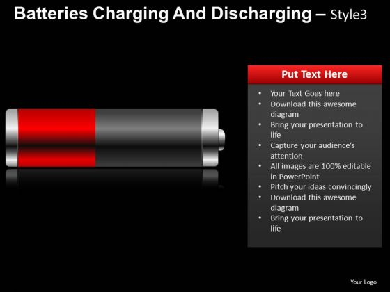 Environmental Batteries Charging 3 PowerPoint Slides And Ppt Diagram Templates
