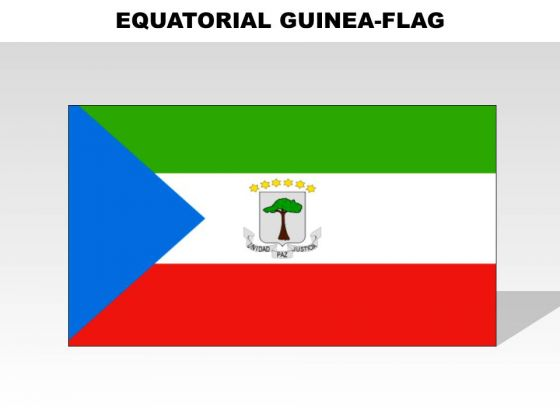 Equatorial Guinea Country PowerPoint Flags