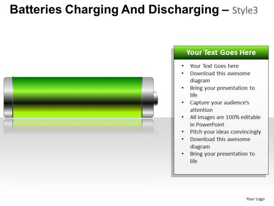 Equipment Batteries Charging 3 PowerPoint Slides And Ppt Diagram Templates