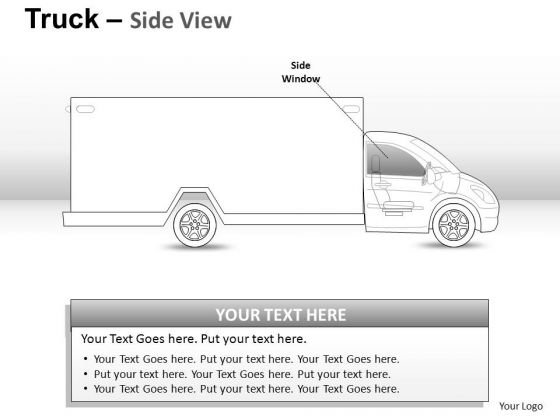 Equipment Yellow Truck PowerPoint Slides And Ppt Diagram Templates