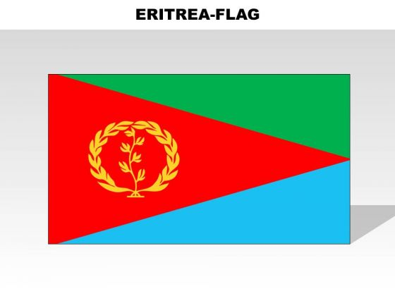 Eritrea Country PowerPoint Flags
