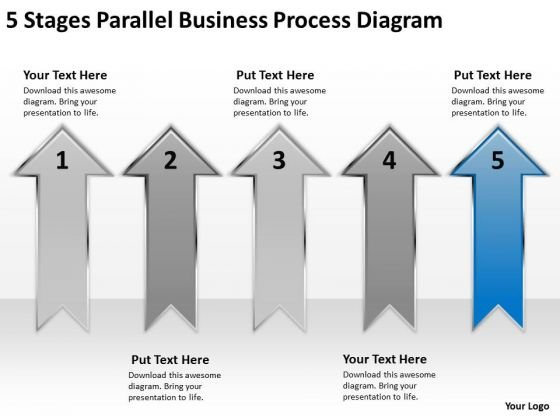 Example Of Parallel Processing Diagram Ppt PowerPoint Templates Backgrounds For Slides