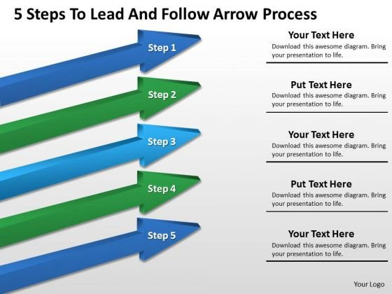 Example Of Parallel Processing Follow Arrow PowerPoint Templates Ppt Backgrounds For Slides