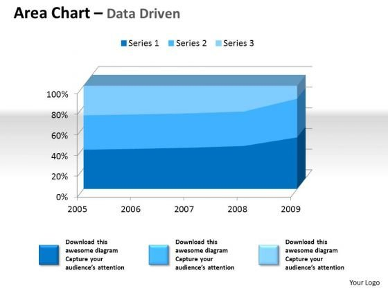 Examples Of Data Analysis Market 3d Area Chart For Quantiative PowerPoint Templates