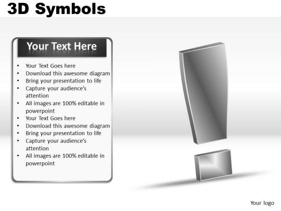 Exclamation Symbols PowerPoint Slides And Ppt Diagrams Templates
