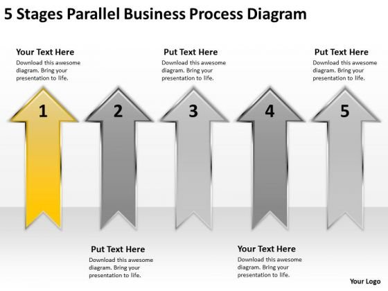 Explain Parallel Processing Diagram PowerPoint Templates Backgrounds For Slides