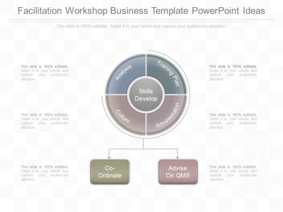 Facilitation Workshop Business Template Powerpoint Ideas