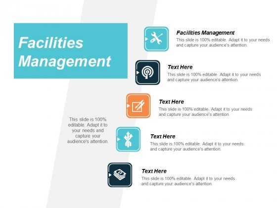 Facilities Management Ppt PowerPoint Presentation Model Diagrams Cpb