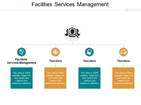 Facilities Services Management Ppt PowerPoint Presentation Show Design Ideas Cpb