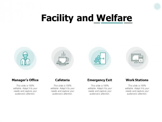 Facility And Welfare Ppt PowerPoint Presentation File Icon
