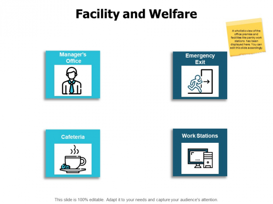 Facility And Welfare Ppt PowerPoint Presentation Professional Infographics