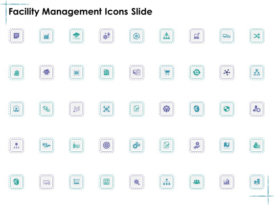 Facility Management Icons Slide Ppt Ideas Graphics PDF