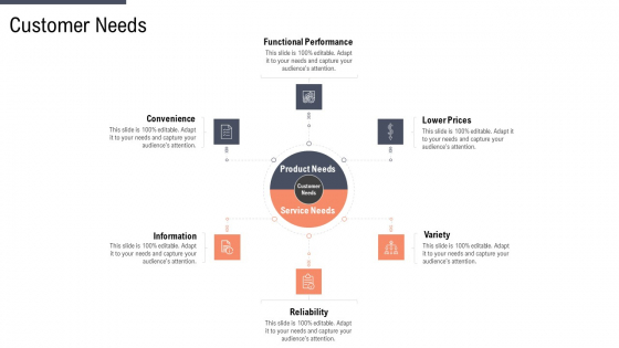Factor Approaches For Potential Audience Targeting Customer Needs Template PDF