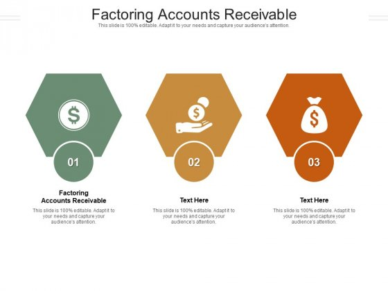 Factoring Accounts Receivable Ppt PowerPoint Presentation Summary Format Cpb Pdf