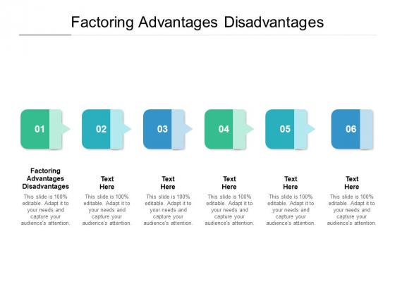 Factoring Advantages Disadvantages Ppt PowerPoint Presentation Model Outfit Cpb Pdf