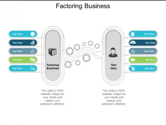 Factoring Business Ppt Powerpoint Presentation Icon Vector Cpb