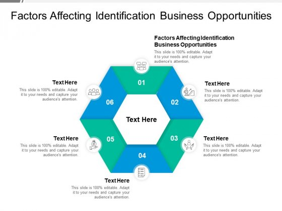 Factors Affecting Identification Business Opportunities Ppt PowerPoint Presentation Infographics Visuals Cpb