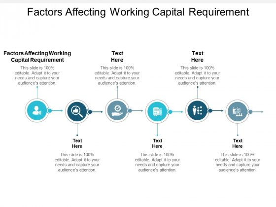 Factors Affecting Working Capital Requirement Ppt PowerPoint Presentation Icon Guide Cpb