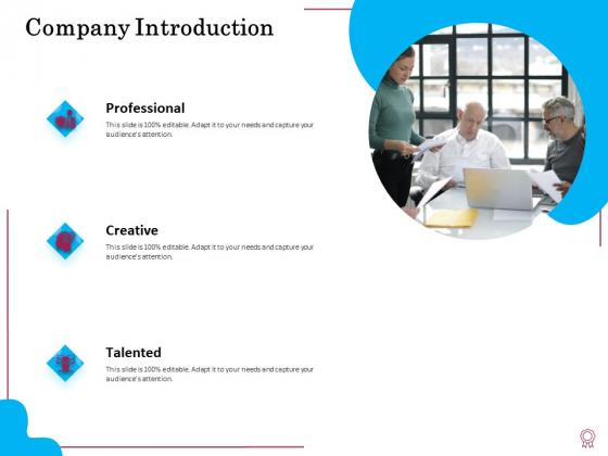 Factors Feasible Competitive Advancement Company Introduction Ppt Slides Graphic Images PDF