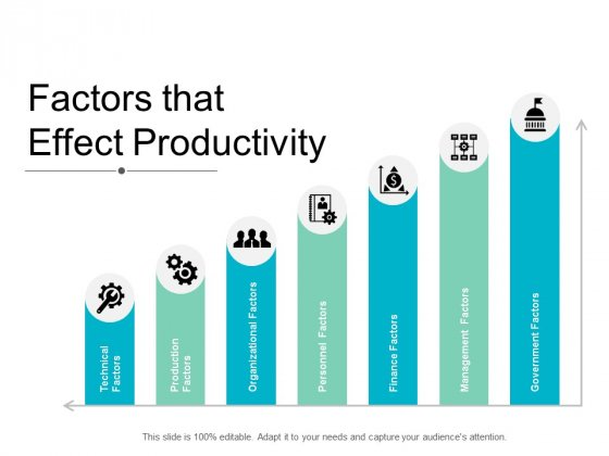 Factors That Effect Productivity Ppt Powerpoint Presentation Pictures Images