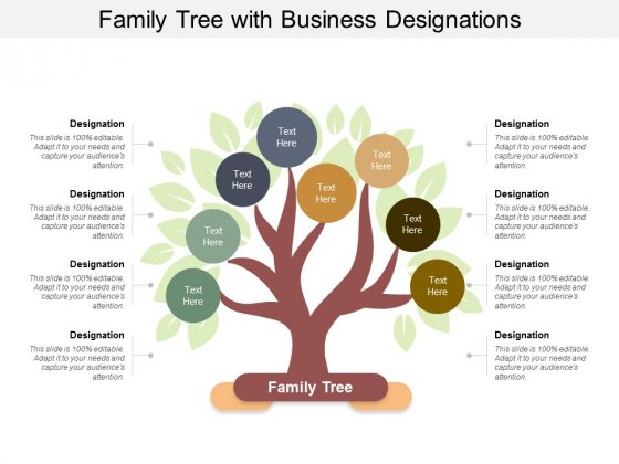 Family Tree With Business Designations Ppt PowerPoint Presentation Professional Design Inspiration