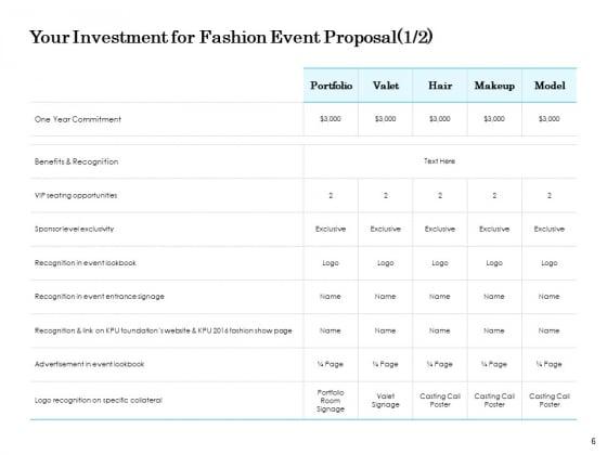 Fashion_Event_Proposal_Ppt_PowerPoint_Presentation_Complete_Deck_With_Slides_Slide_6