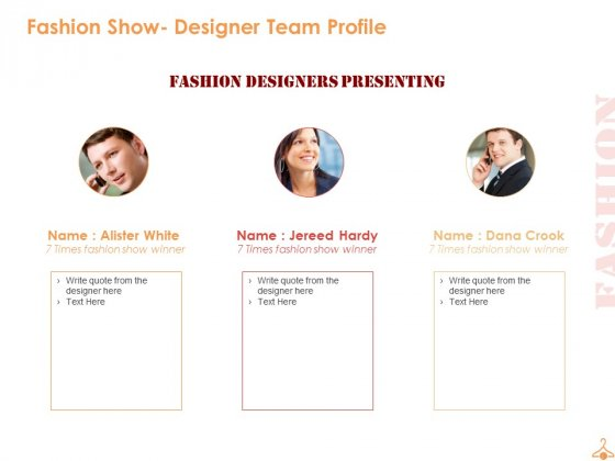Fashion Show Sponsorship Proposal Ppt Powerpoint Presentation Complete Deck With Slides Powerpoint Templates