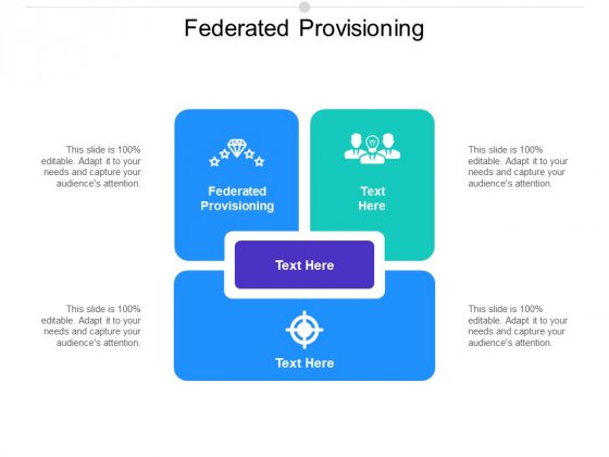 Federated Provisioning Ppt PowerPoint Presentation Inspiration Brochure Cpb Pdf