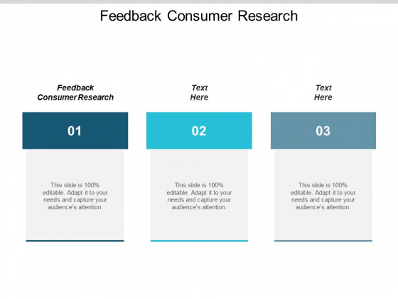 Feedback Consumer Research Ppt PowerPoint Presentation Ideas Objects Cpb