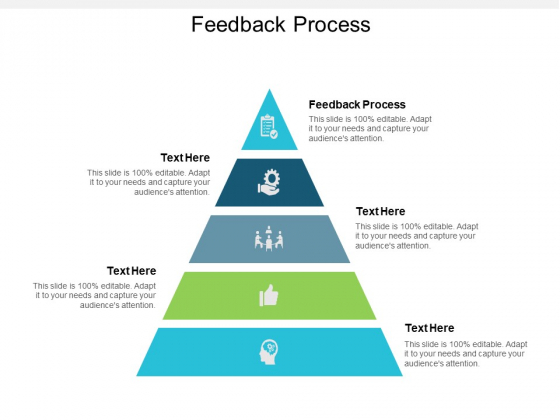 Feedback Process Ppt Powerpoint Presentation Pictures Brochure Cpb