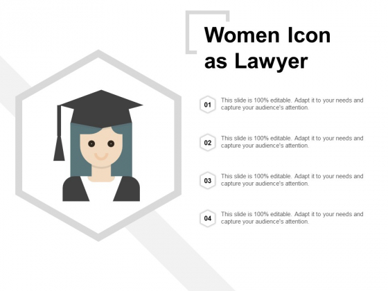 Female Lawyer Vector Icon Ppt PowerPoint Presentation Ideas Design Inspiration