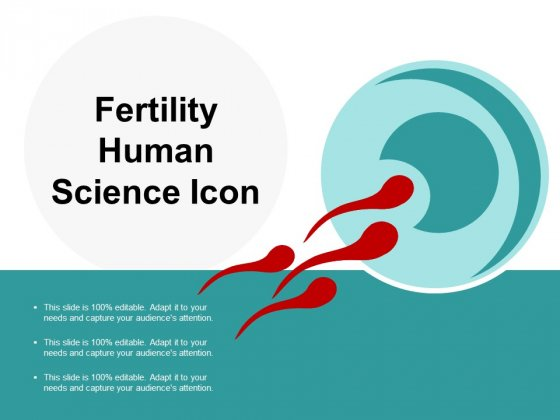Fertility Human Science Icon Ppt Powerpoint Presentation Styles Vector